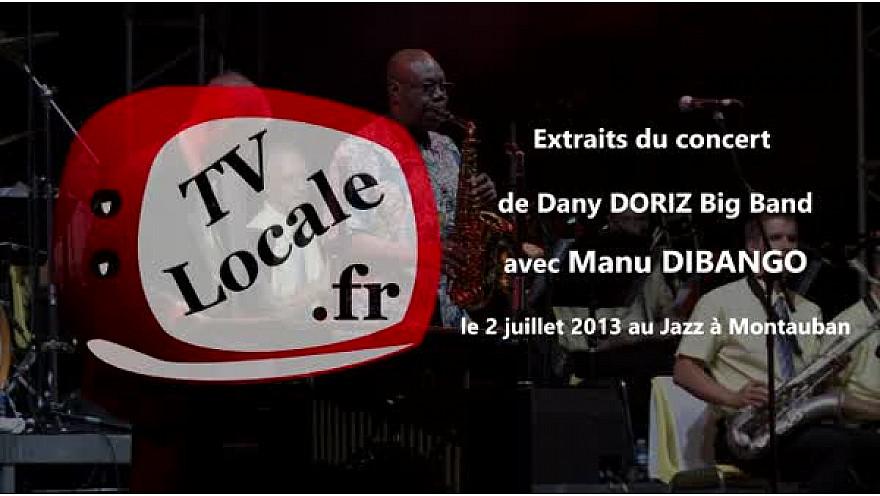 Décès ce 24 mars 2020 de Manu Dibango, ce monstre sacré de l'univers jazz qui était à Montauban en 2013 avec le Dany Doriz Big band #ManuDibango.